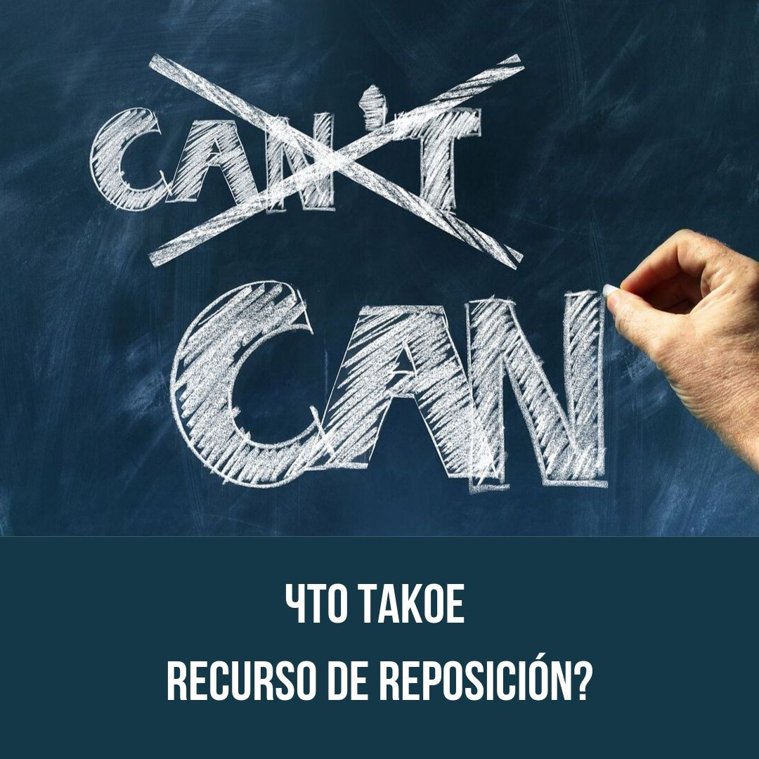 Что такое Recurso de reposición?